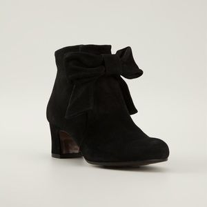 Chie Mihara Zulema Bow Front Ankle Booties